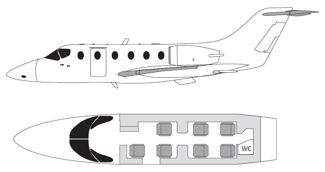 hawker-400-cabin-layout